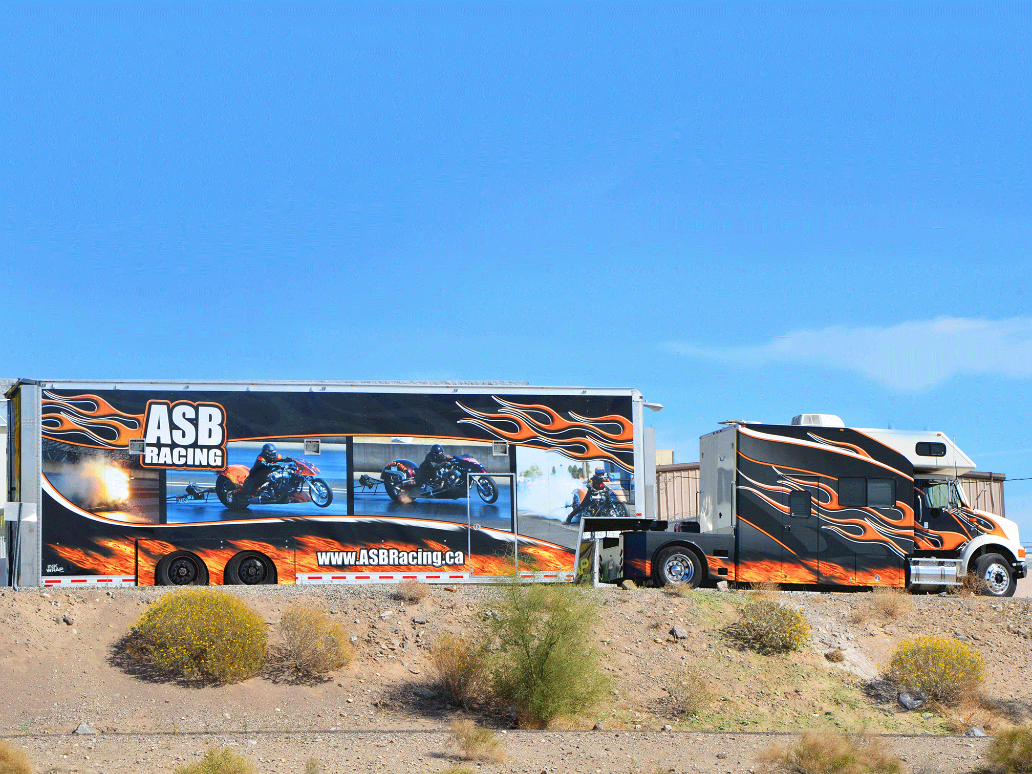 ASB Racing Diesel and Trailer XXL Wrap
