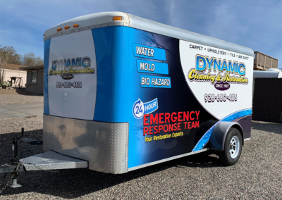 Dynamic Cleaning Trailer Wrap