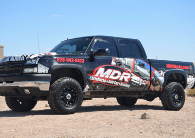 MDR Workz Truck Commercial Wrap