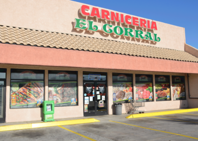 Mexican Restaurant Front Wrap